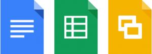 Documentos, planilhas e apresentações para Android