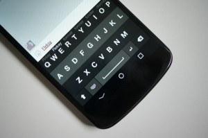 Atualize Android teclado Fleksy