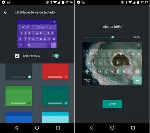 teclado android nougat